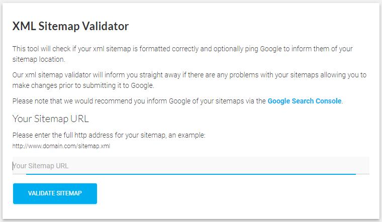 XML Sitemap Validator