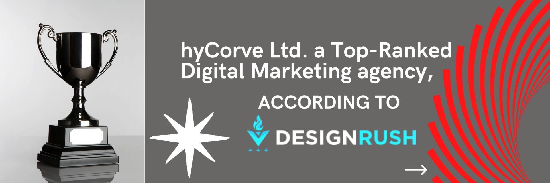 hyCorve Ltd. ranked as Top-Ranked Digital Marketing agency,