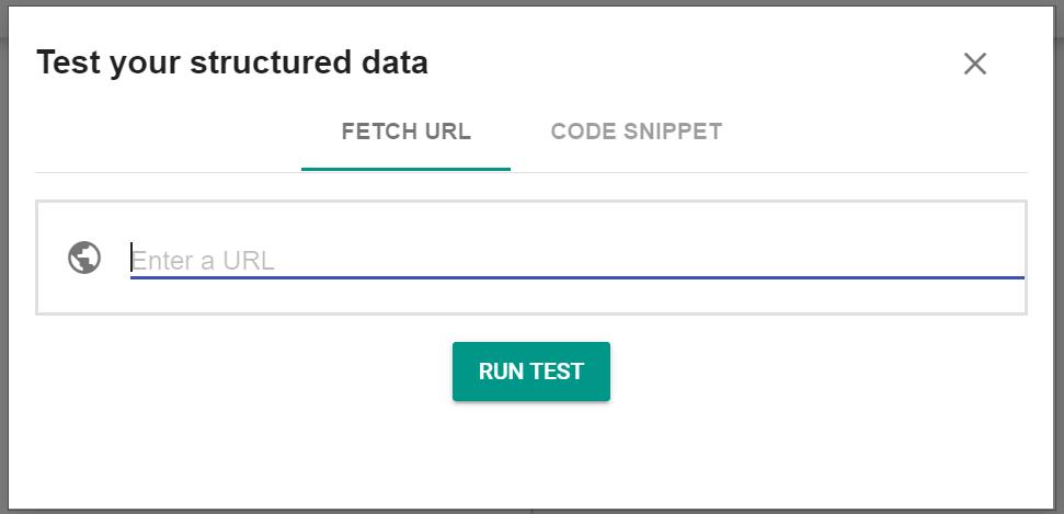 Schema Markup Validator Screenshot